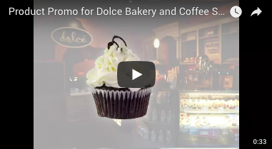 Product Promo for Dolce Bakery and Coffee Shop