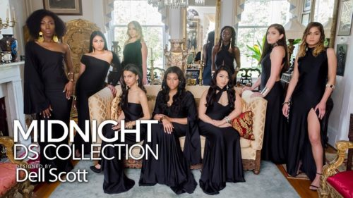 MIDNIGHT: DS Collections by Fashion Designer Dell Scott