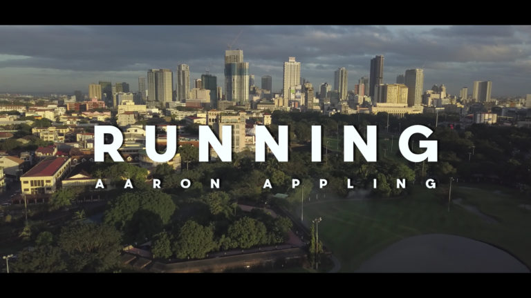 """Running"" by Aaron Appling (Official Music Video)"