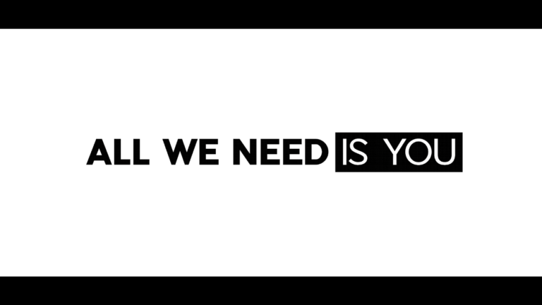 """ALL WE NEED IS YOU"" by Chip Bailey (OFFICIAL MUSIC VIDEO)"